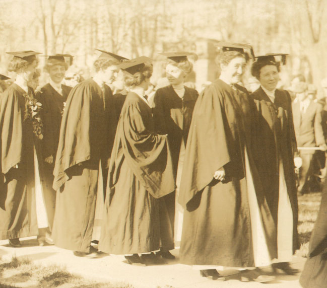 U-M professors were divided on the move to co-education. Some said women lacked the physical stamina and intellectual rigor for college; others—including several with ambitious daughters—were sure that women could compete.