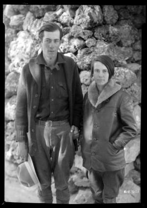 Glen and Bessie Hyde began their 1928 honeymoon on the Colorado River.