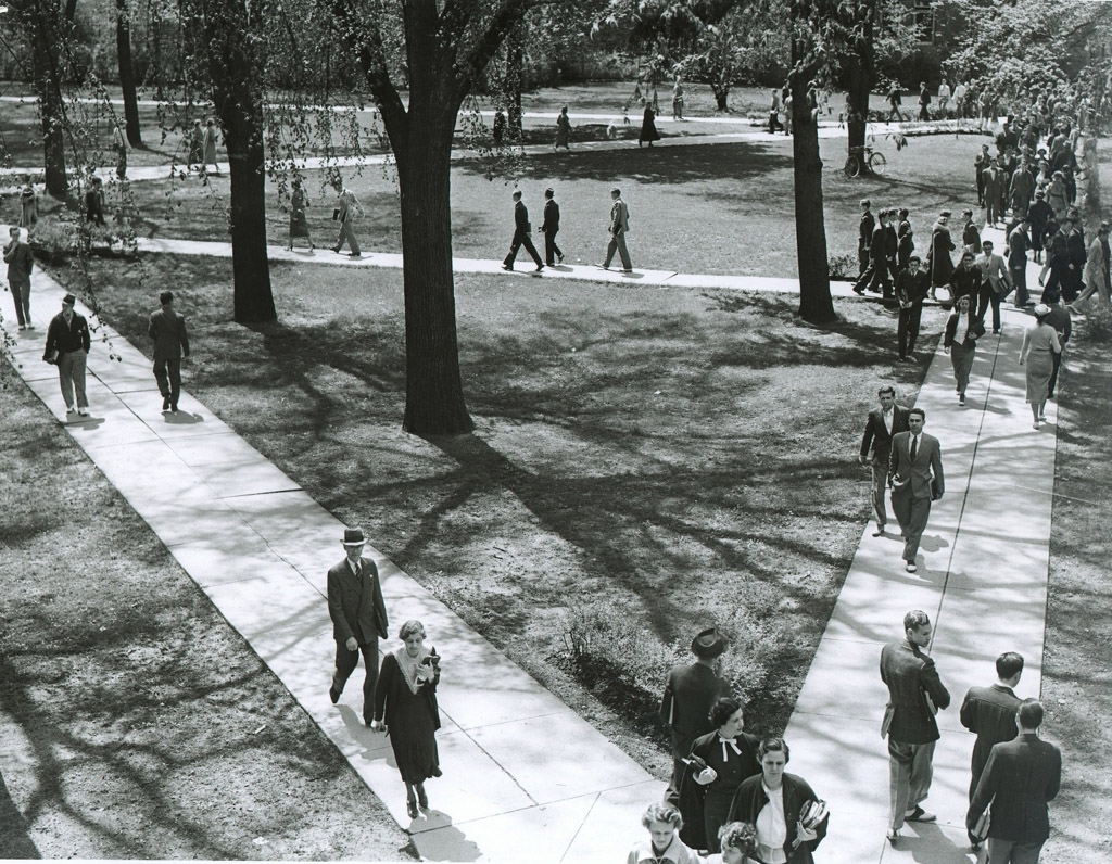 The Diag in the 1930s.