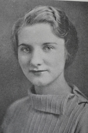 Bernice Ringman as a young faculty member at Michigan State Normal College in Ypsilanti.
