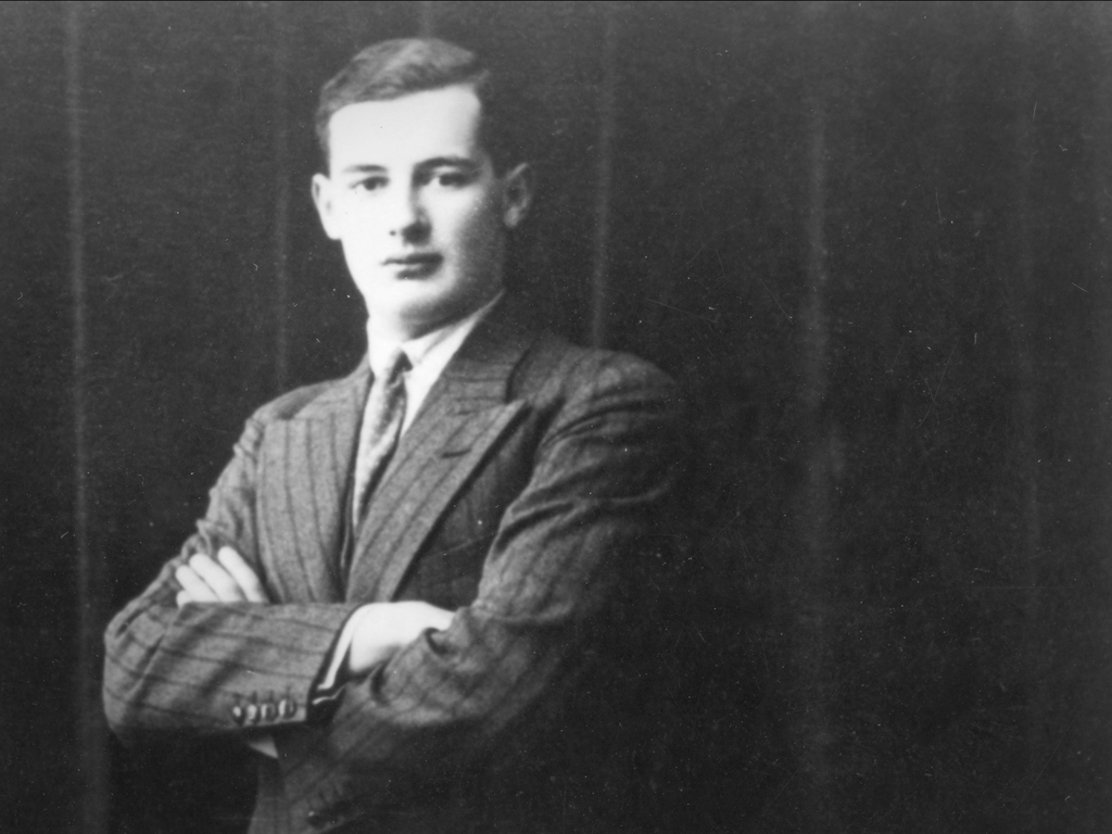 Raoul Wallenberg in his senior year at U-M.