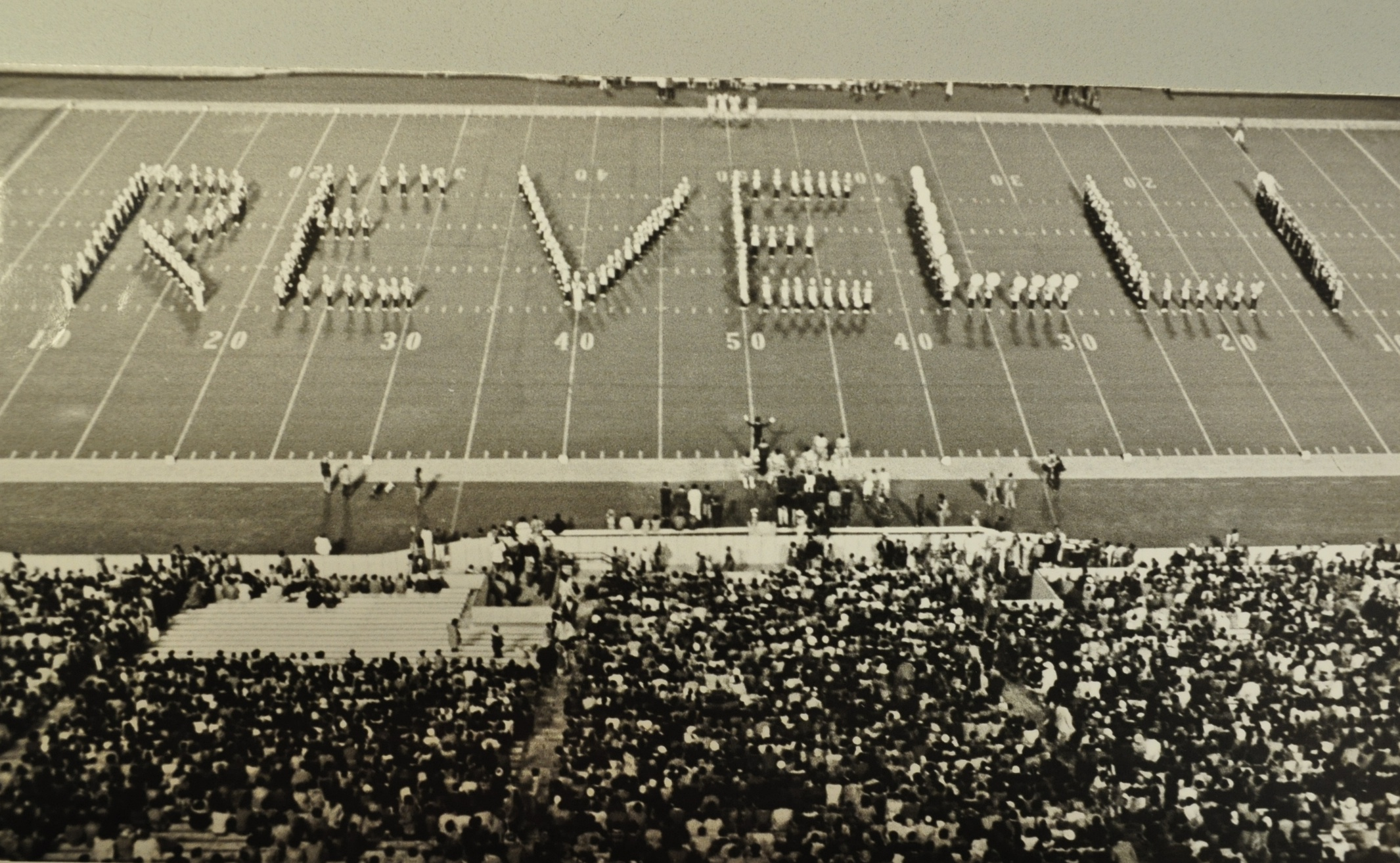 The Michigan Marching Band pays tribute to its longest-serving conductor.
