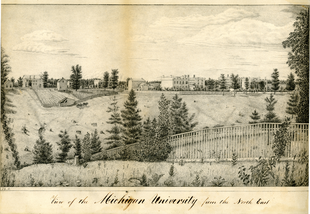 When Henry Tappan was invited to become U-M's first president, the University consisted of a few scattered buildings on a 40-acre field.