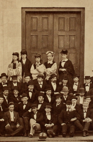 A few members of the class of 1875.