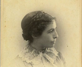 Mary Sheldon Barnes, about 1885.