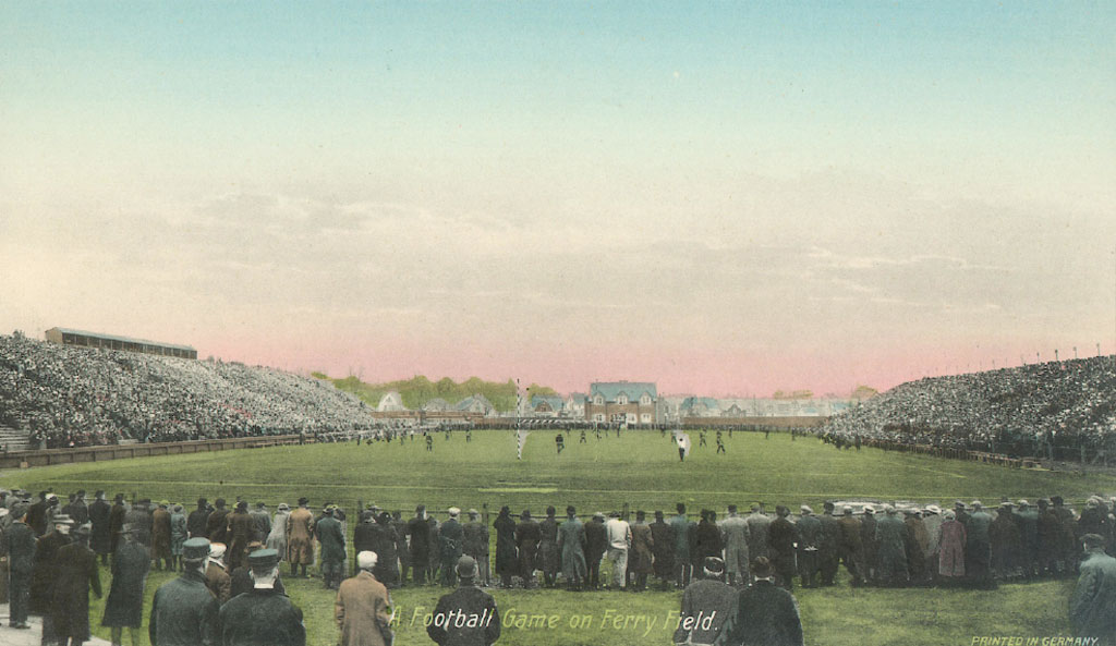 Ferry Field was beloved by a generation of fans. But despite the addition of more and more seats, by the 1920s it could no longer meet the soaring demand for more tickets.
