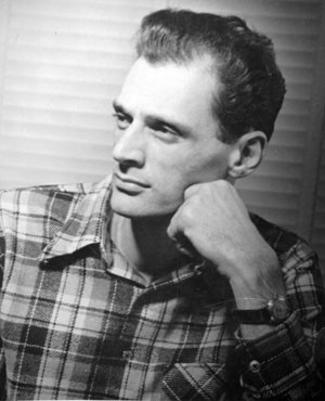 Playwright Arthur Miller.