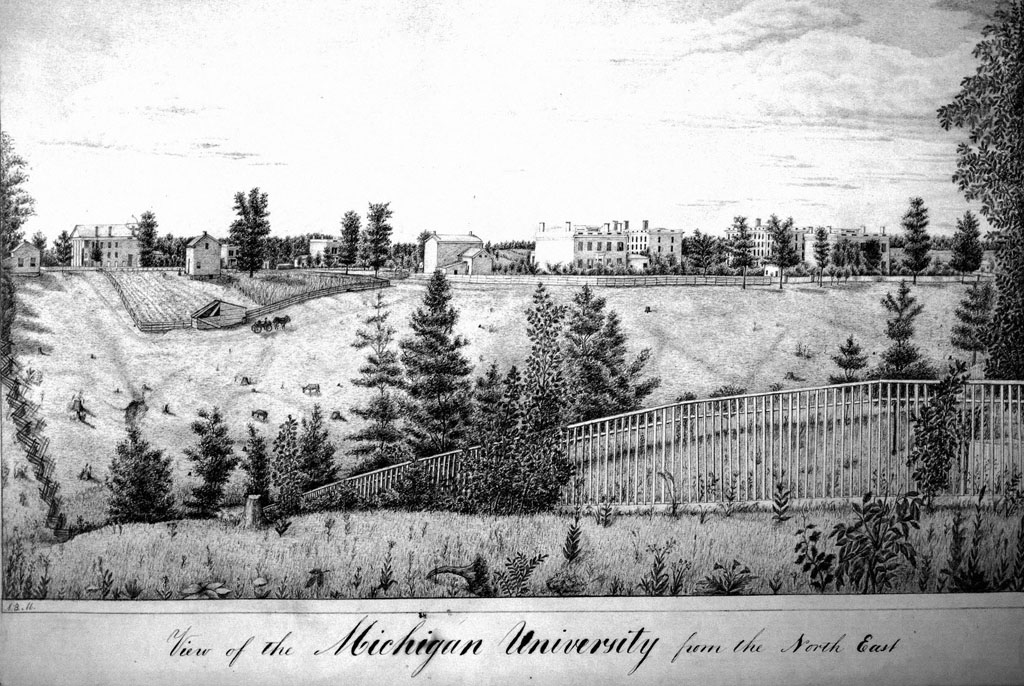 The University of Michigan's leaders believed their evolving campus was the ideal location for an agriculture department to educate the state's farmers.