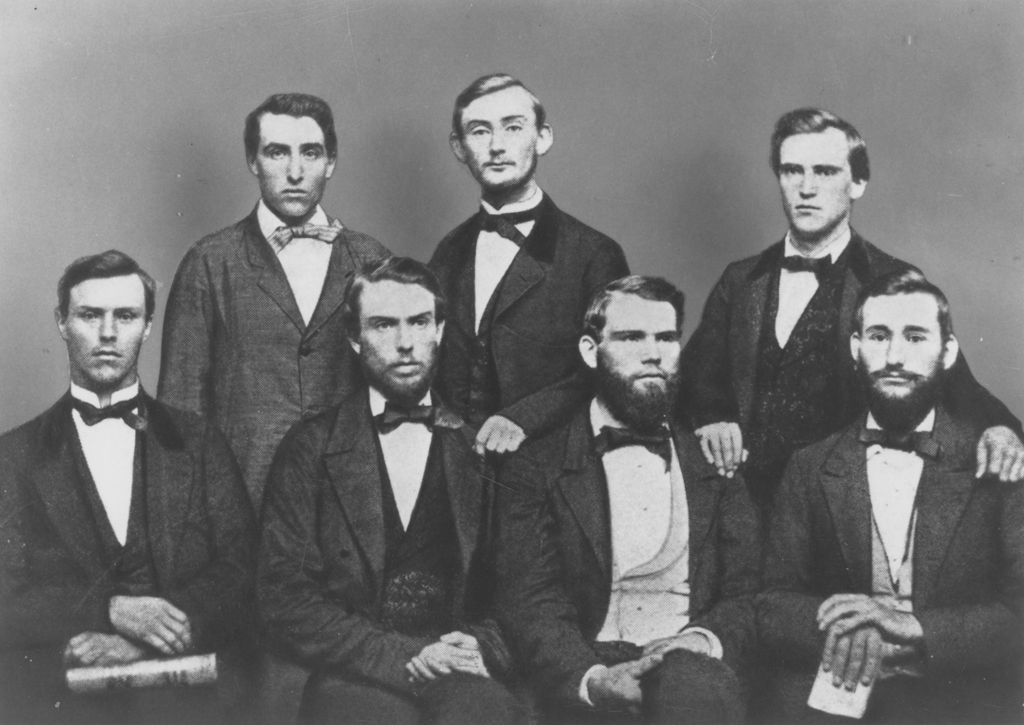 The Agricultural College saw its first class of students graduate in 1861.