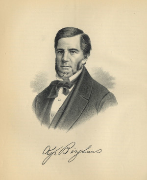 Michigan Gov. Kinsley Bingham signed the 1855 law creating Michigan's freestanding agricultural college.