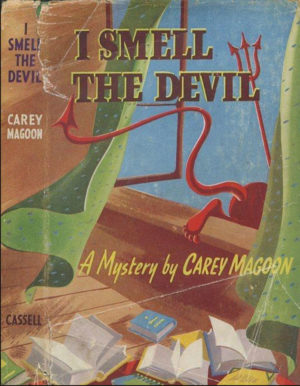 I Smell the Devil was written by two friends, both of them English teachers, who returned to Michigan for graduate degrees in the 1930s.