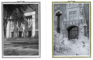 Margaret White's photographs filled several pages of the 1924 Michiganensian.
