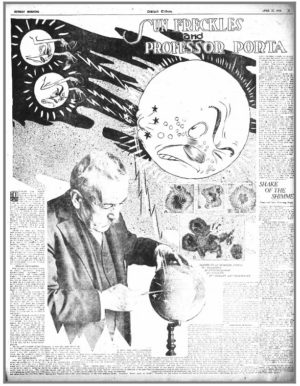Professor Porta found fame through the Oakland Tribune and its syndicating of his forecasts.
