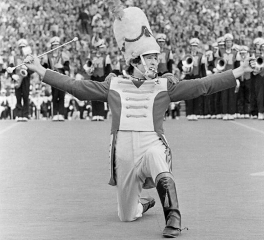 Albert Ahronheim drum major