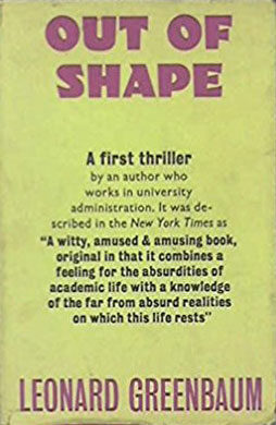 "The New York Times called Out of Shape ""a half-kidding, half-affectionate picture of life amid the academics."""