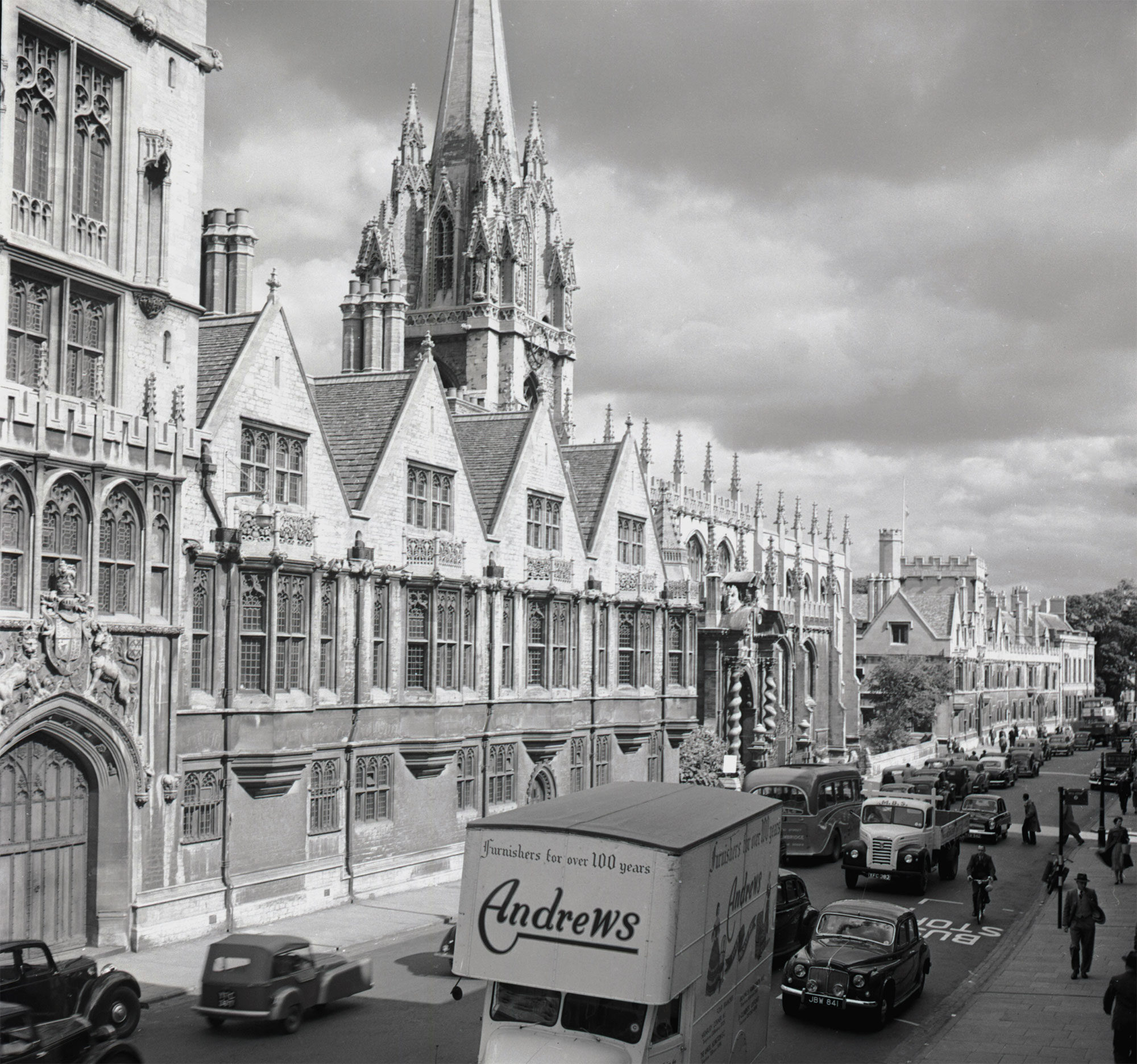 Oxford in early 1950s