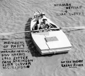Norman Nevills was a veteran riverman who, with Elzada Clover, led the 1938 expedition.