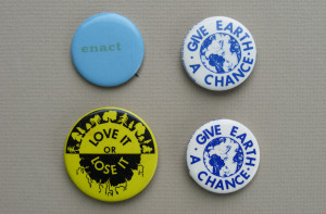 A cascade of buttons were seen throughout the Teach-In.
