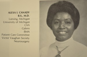 Neurosurgeon Alexa Canady.