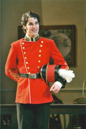 """Glee"" star Darren Criss in a 2008 campus play."