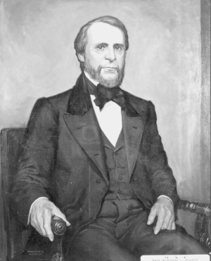 "Joseph R. Williams was the first president of the Agricultural College of the State of Michigan. ""The acorn we bury today will not branch into a majestic oak tomorrow."""