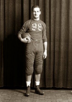 Tom Harmon, Michigan's first Heisman Trophy winner, in 1940.