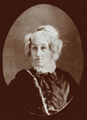 "Julia Livingston Tappan. Professor Andrew Dickson White called her ""a noble and lovely woman"" who ""could hardly suppress her natural preference for her old home and friends."""