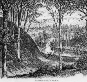Sketch of Glen Scribners 1871