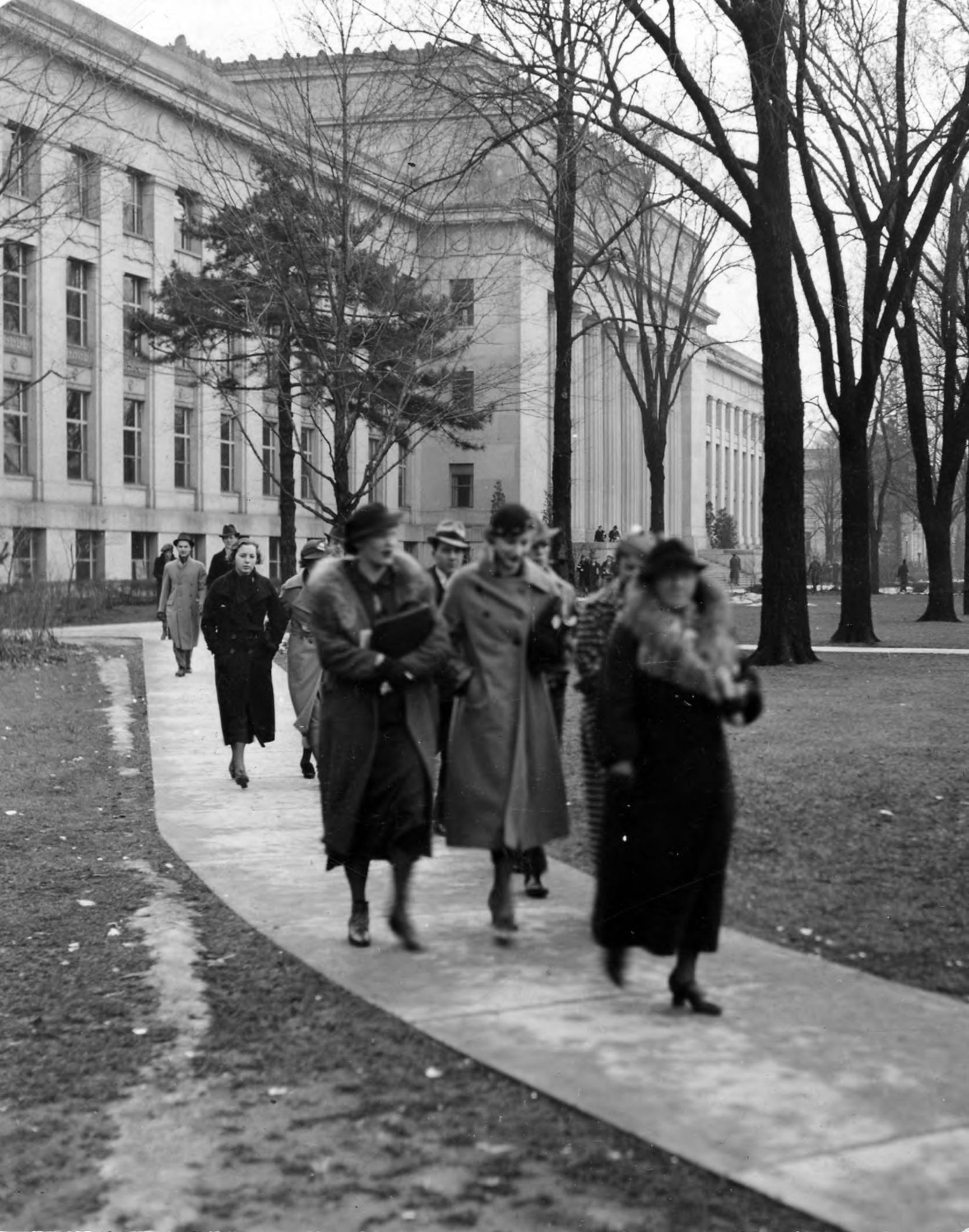 Angell Hall in 1930s