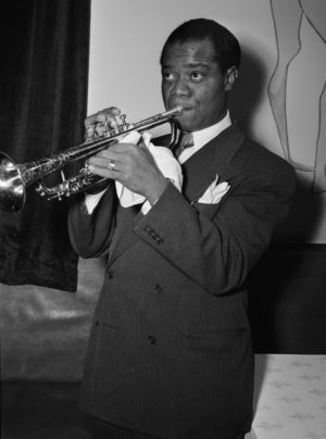Louis Armstrong in 1938.