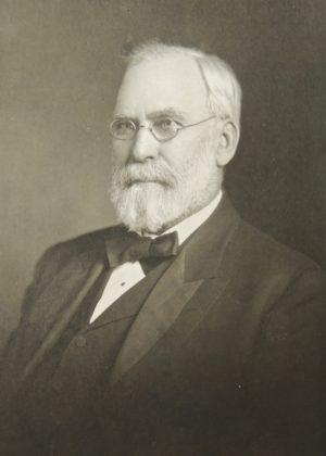 Regent Byron M. Cutcheon repeatedly sided in defending Douglas Joy.