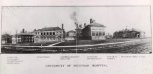 The Catherine Street complex was a hodgepodge of clinical buildings.