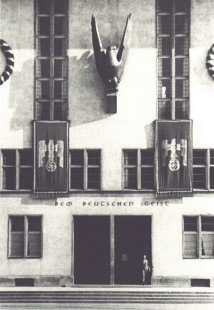 The Heidelberg campus became adorned in Nazi symbolism in 1936.