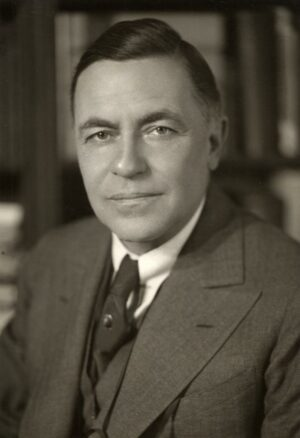 President Alexander G. Ruthven led U-M through the Great Depression and World War II.