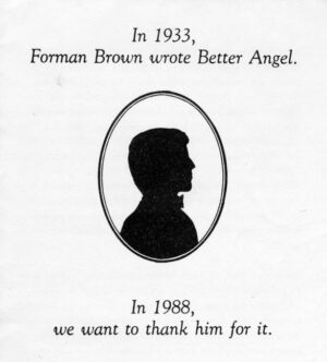 Brown was feted after coming forward as the author of
