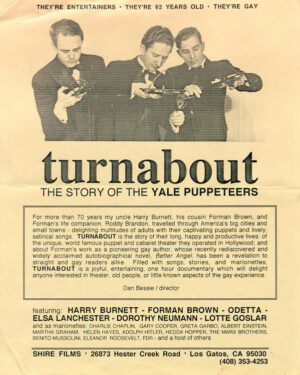 The Yale Puppeteers and their Turnabout Theatre were the subjects of a documentary.