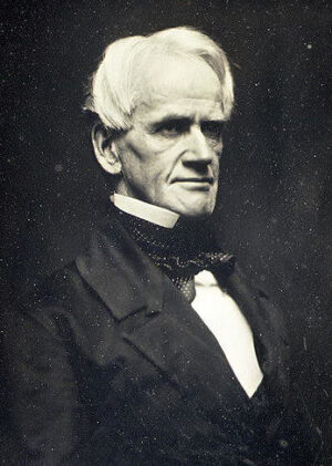 Antioch College President Horace Mann believed co-education brought both rewards and dangers.