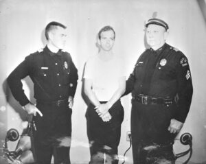 Lee Harvey Oswald in custody on Nov. 22, 1963.