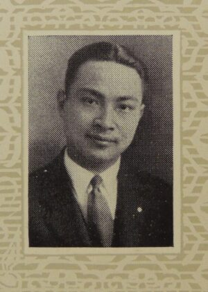William Wang, president of the Chinese Students' Club.