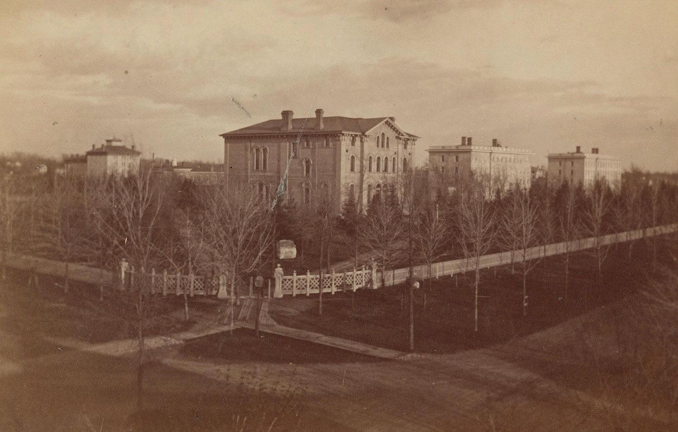 U-M Campus in 1860s