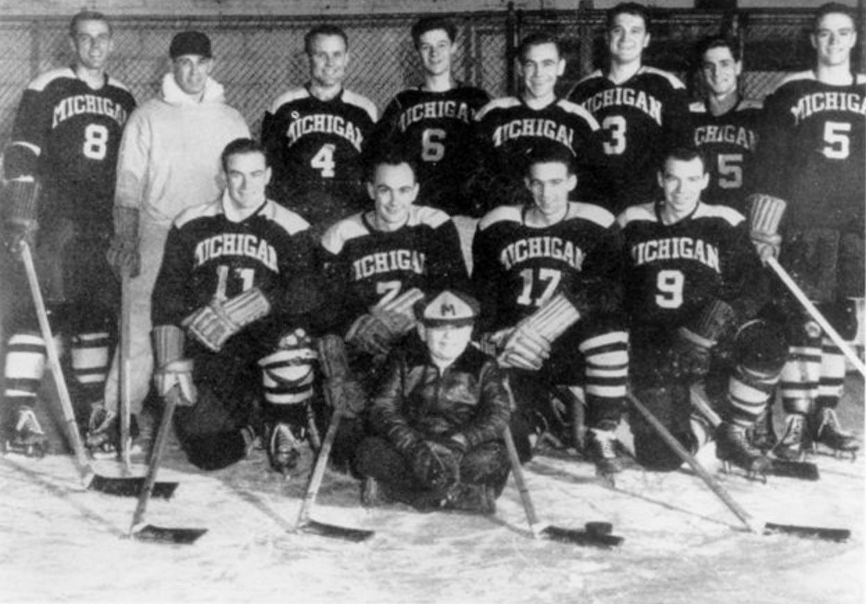 1950 U-M hockey team