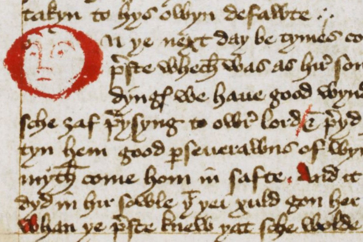 Margery Kempe page fragment